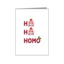 ho ho homo females - pride xmas