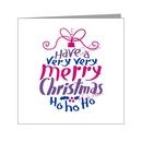 merry christmas word art bauble - bisexual xmas
