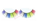 forty pairs of rainbow eyelashes