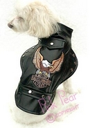 doggie motorcycle jacket