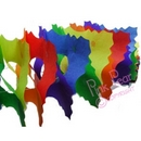 garland - rainbow squares